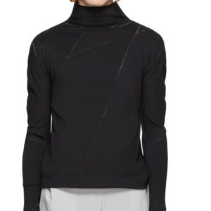 Issey Miyake 132 5. Black long sleeve turtleneck 2